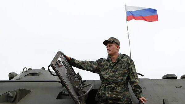 Военнослужащий России, архивное фото