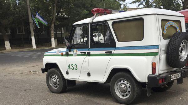 Полиция в Узбекистане