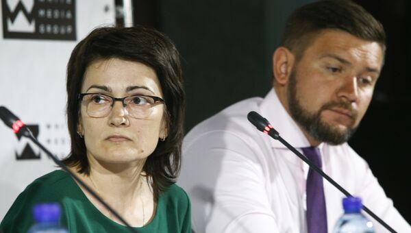 Пресс-конференция представителей пострадавших в ДТП с участием экс-сотрудника Синергии Михаила Исаханова
