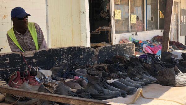 В лагере Сирийских Беженцев Заатари на севере Иордании в провинции Аль-Мафрак. Архивное фото