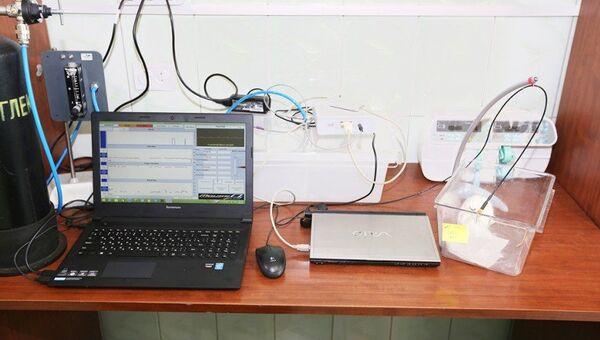 Лаборатория ФПИ. Архивное фото