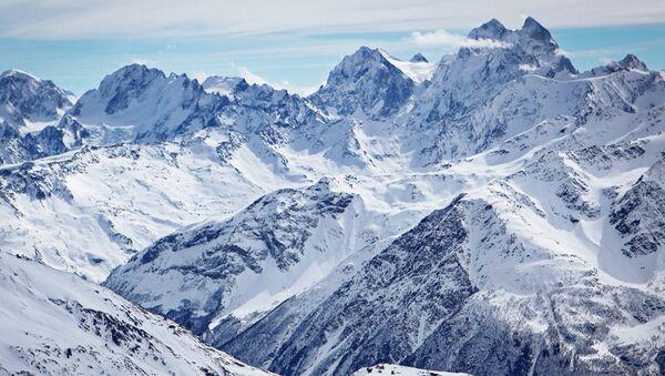 Вид на горы в Кабардино-Балкарии. Архивное фото