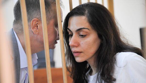Ходатайство следствия о продлении ареста Карины Цуркан в Лефортовском суде. 10 августа 2018