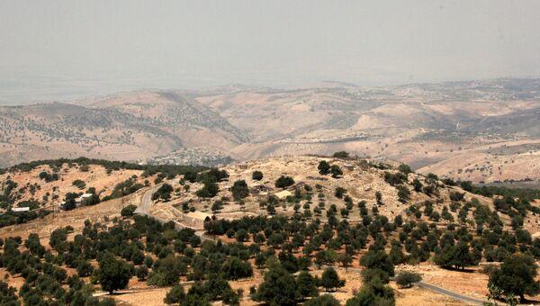 Окрестности горы Тель-Мар-Ильяс, где родился и жил пророк Илия, Иордания