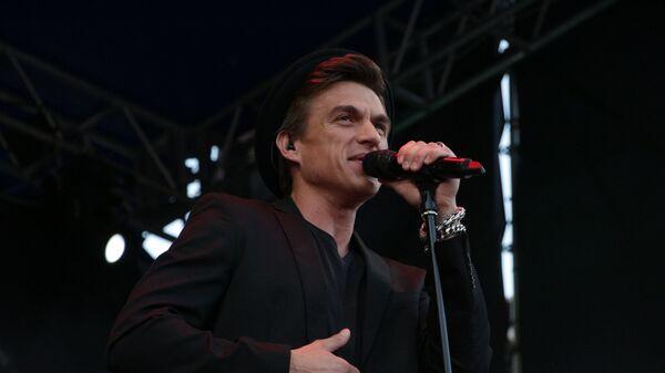 Российский певец Влад Топалов на концерте в Луганске. 11.08.2018
