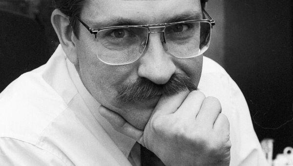 Тележурналист Влад Листьев. Архивное фото