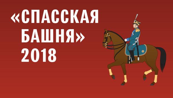 Спасская башня 2018