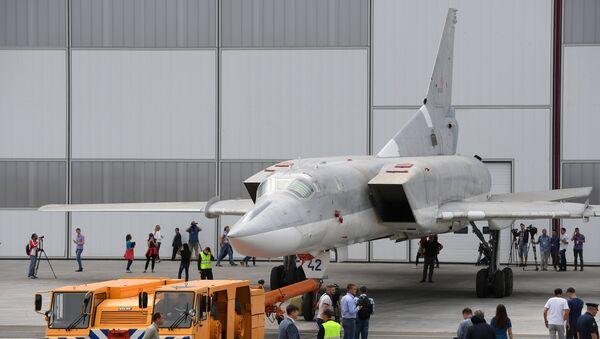 Модернизированный бомбардировщик Ту-22М3М