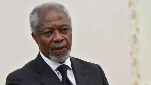 Бывший генсек ООН Кофи Аннан. Архивное фото