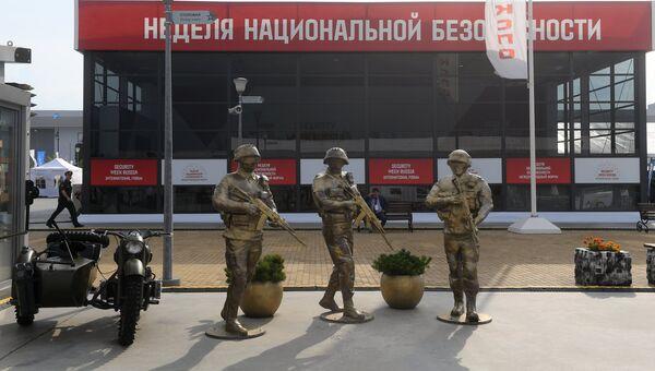 Экспонаты на выставке Армия России – завтра в рамках IV Международного военно-технического форума Армия-2018 в Кубинке. Архивное фото