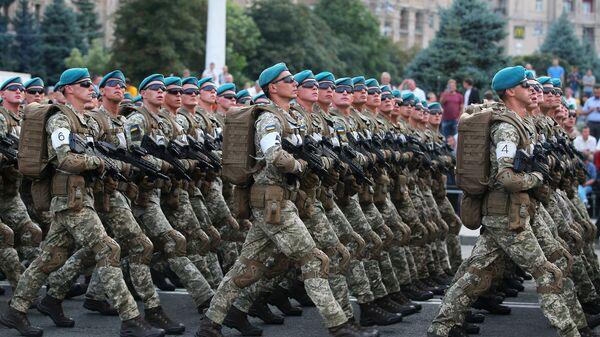 Солдаты армии Украины
