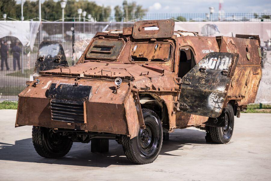 «Шахид-мобиль» на базе внедорожника Toyota Land Cruser