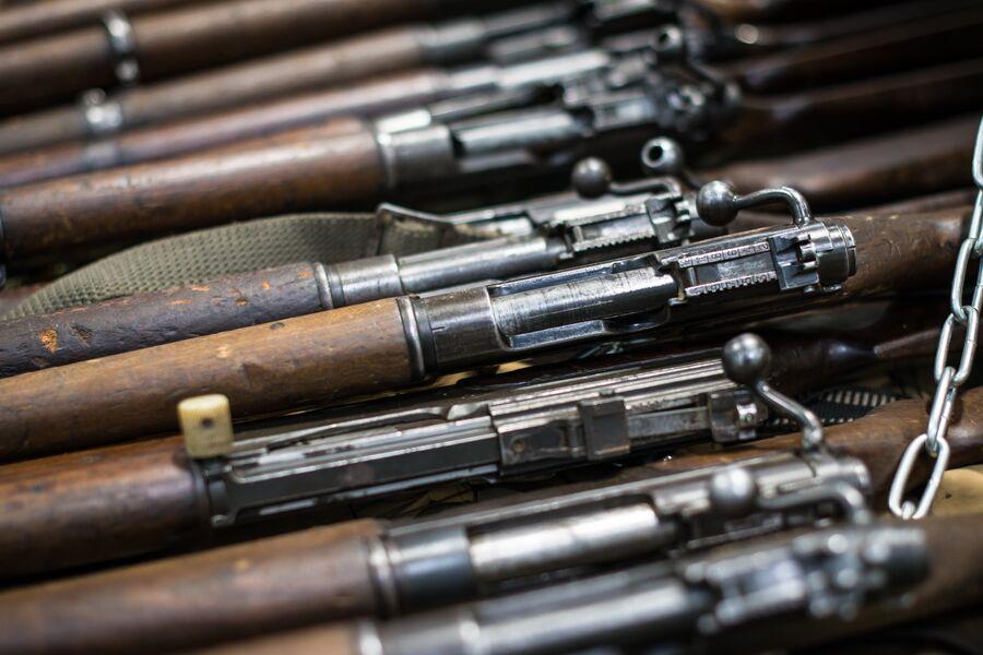 Французские армейские винтовки MAS-36 образца 1936-го