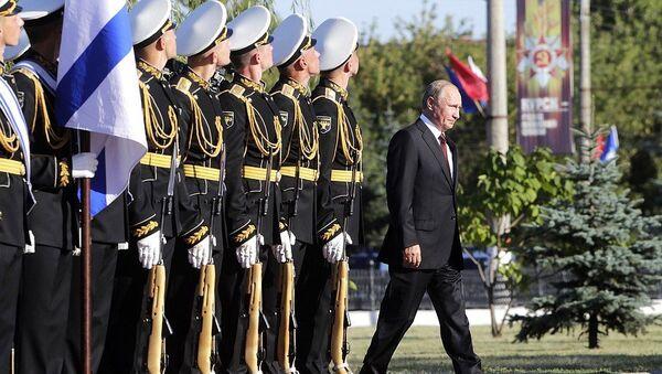 Владимир Путин прибыл в Курск, где отмечают 75-летие победы советских войск над немецко-фашистскими захватчиками в Курской битве