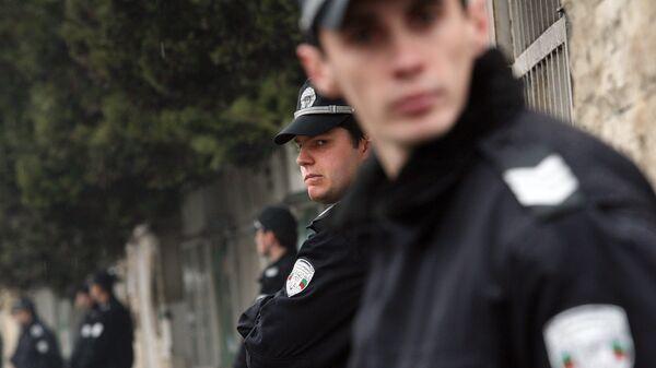 Болгарские полицейские