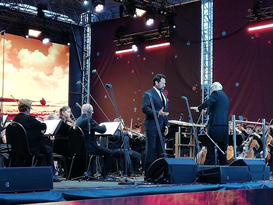 Выступление Ильдара Абдразакова на благотворительном концерте в память о Дмитрии Хворостовском в Красноярске. 26 августа 2018