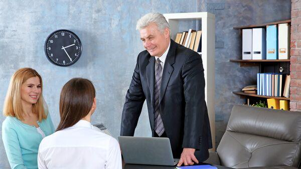 Встреча с учителем в школе