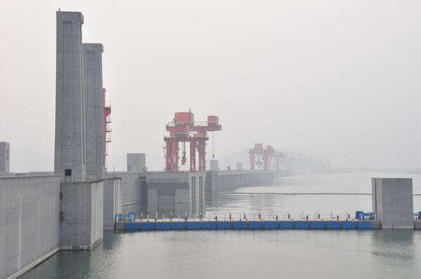 Гидроэлектростанция Три ущелья в Китае