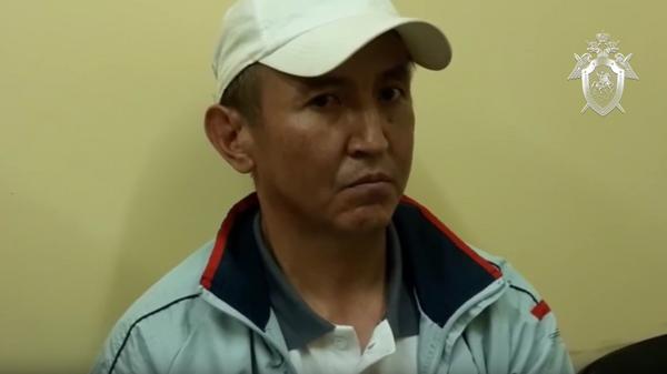 Нурлан Муратов, обвиняемый в убийстве полицейского в метро