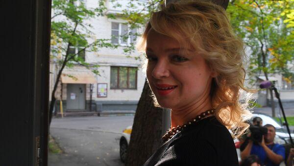 Бывшая жена народного артиста СССР Армена Джигарханяна Виталина Цымбалюк-Романовская. Архивное фото