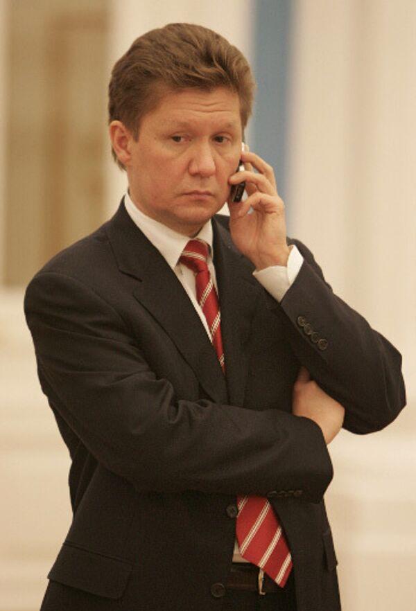 Председатель Правления Газпром Алексей Миллер