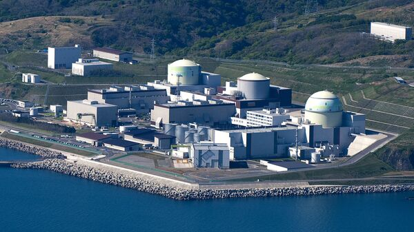 Атомная электростанция Томари на Хоккайдо в Японии. Архивное фото
