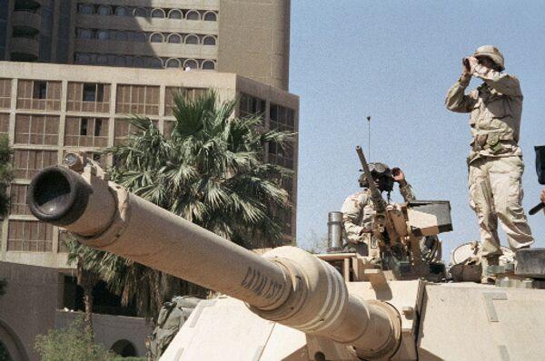 Американские солдаты в Ираке. Архив