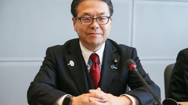Министр экономики, торговли и промышленности Японии Хиросигэ Сэко