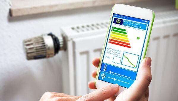 Управление температурой в доме с помощью приложения в телефоне
