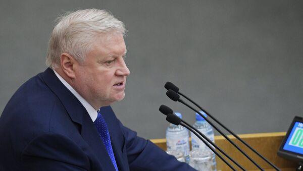 Председатель партии Справедливая Россия Сергей Миронов, архивное фото