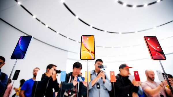 Новые смартфоны Apple iPhone XR. 12 сентября 2018 года. Архивное фото