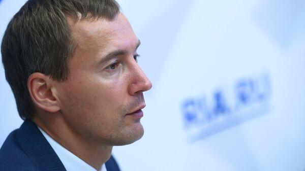 Генеральный директор АО Корпорация развития Дальнего Востока Денис Тихонов. Архивное фото