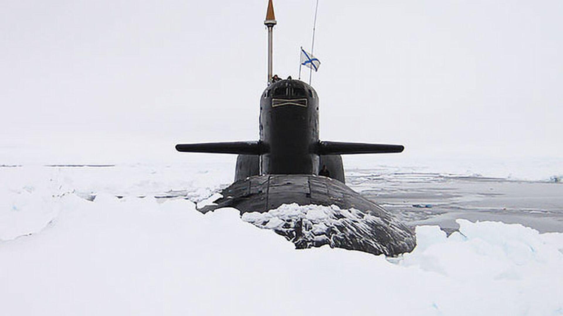 Атомная подводная лодка - РИА Новости, 1920, 13.01.2021