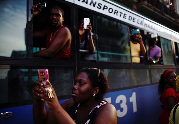 Жители Гаваны
