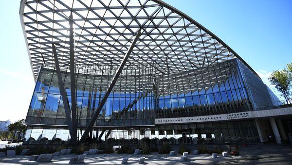 Московский концертный зал Зарядье