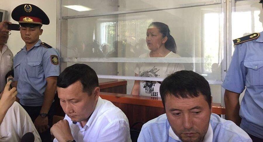 Заседание суда по делу гражданки Китая, казашки Сайрагуль Сауытбай, обвиняемой в незаконном пересечении границы Казахстана