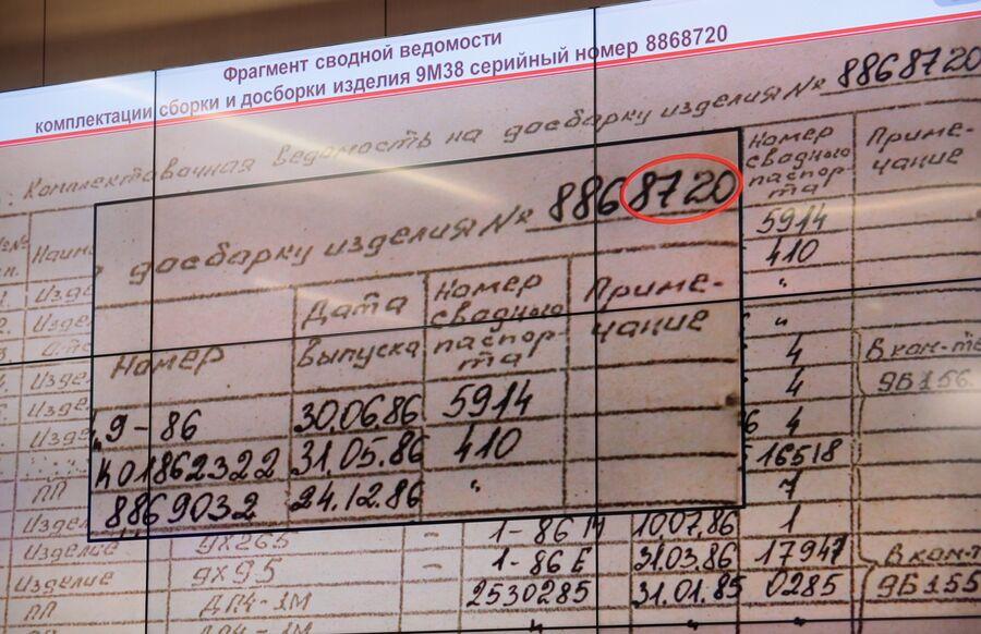 Брифинг Министерства обороны России по  крушению Боинга-777