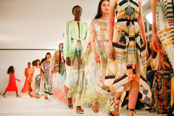 Temperley London show на Неделе моды в Лондоне, Великобритания