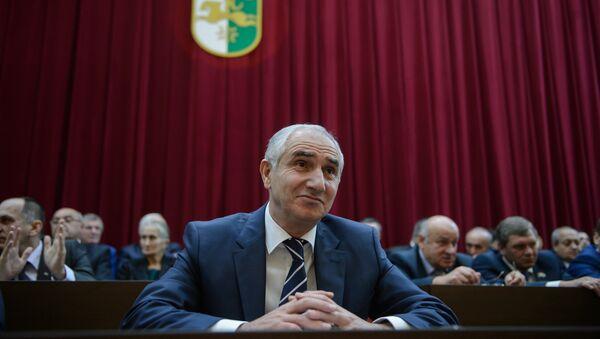 Спикер парламента Республики Абхазия Валерий Бганба. Архивное фото