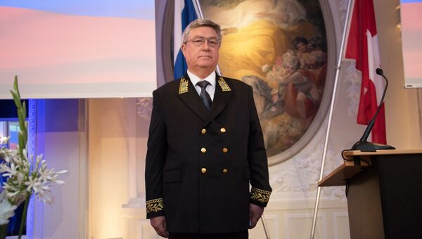 Посол РФ в Швейцарии Сергей Гармонин. Архивное фото