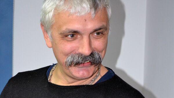 Украинский политический и общественный деятель, журналист и телеведущий Дмитрий Корчинский. Архивное фото