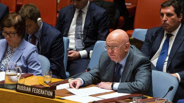 Постоянный представитель РФ при Организации Объединённых Наций Василий Небензя. Архивное фото