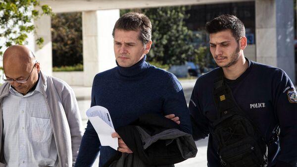 Задержанный в Греции Александр Винник. Архивное фото