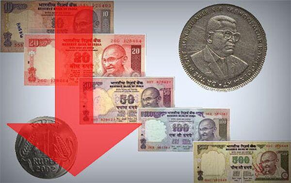 Падение рупии