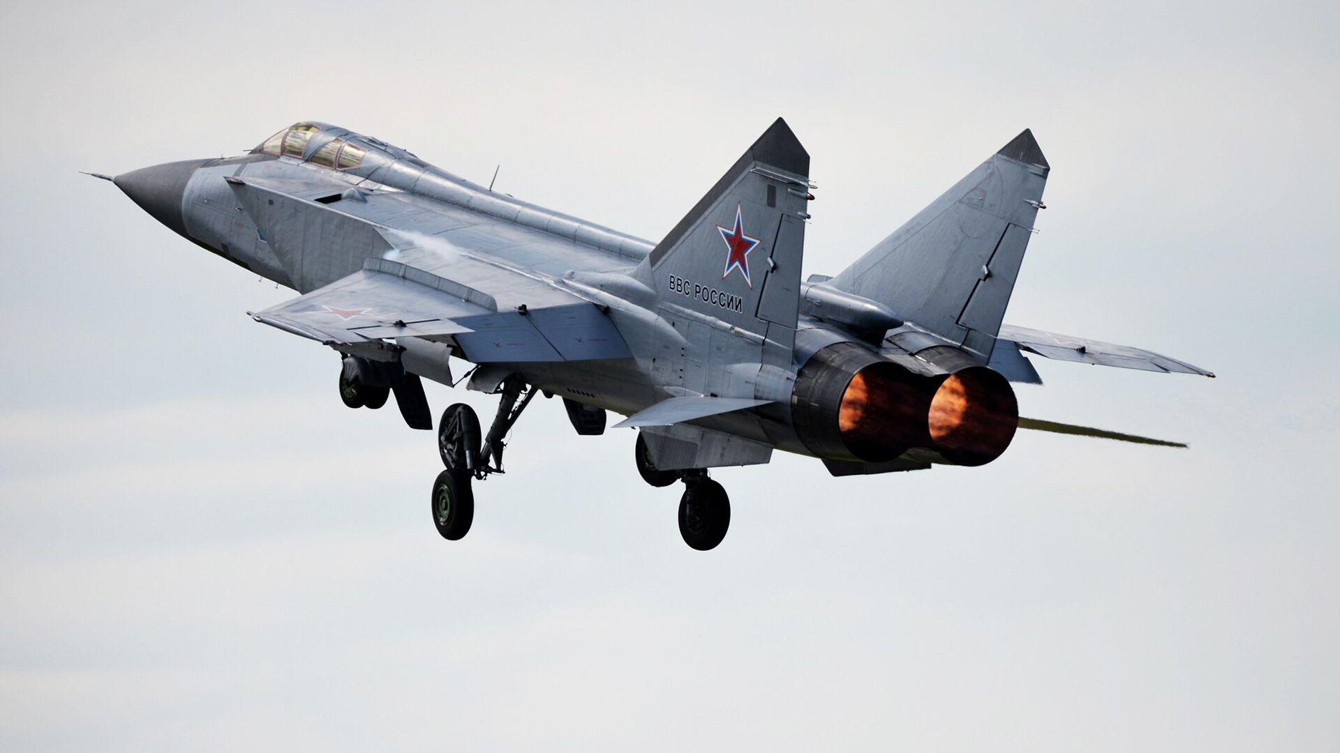 Истребитель-перехватчик МиГ-31 - РИА Новости, 1920, 07.04.2021