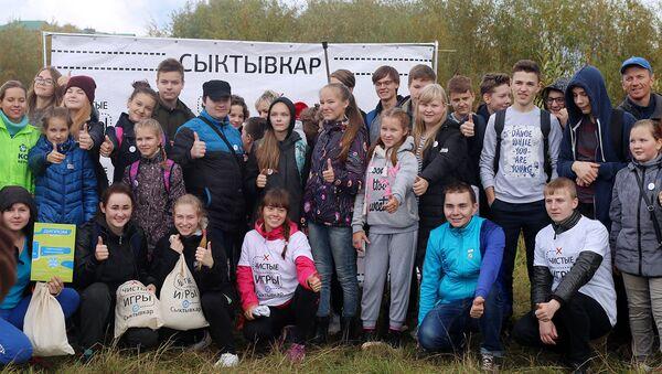 В Коми добровольцы приняли участие во всемирном дне чистоты Сделаем