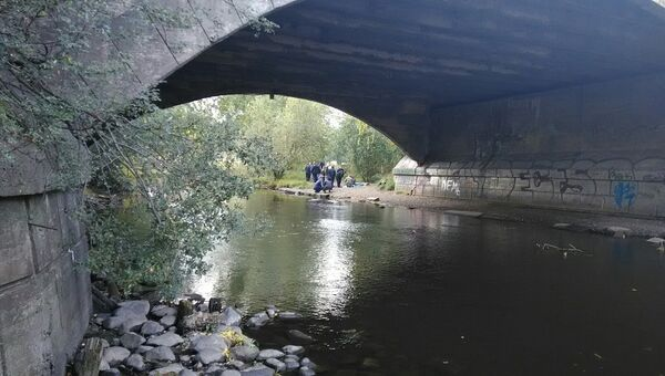 Место убийства девушки в Петрозаводске