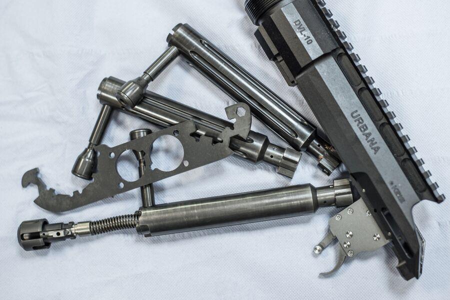 Затворная группа и ствольная коробка снайперской винтовки