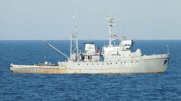 Буксир Корец ВМС Украины. Архивное фото