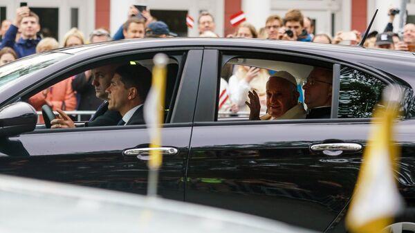 Визит папы Римского Франциска в Латвию